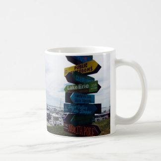 Kelleys Zeichen-Foto-Tasse Insel-, Ohio Kaffeetasse