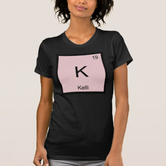 Kelli Namenschemie-Element-Periodensystem T-Shirt