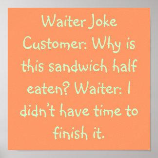 Kellner-Witz Poster