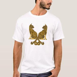 keltische Bronzegold der Katzen 6 T-Shirt