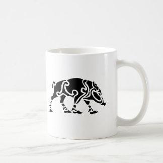 Keltische Eber-Kaffee-Tasse Kaffeetasse