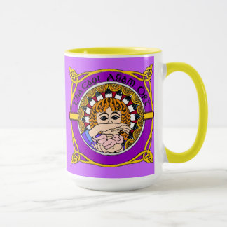 Keltische Geburts-Segen-Tasse Tasse