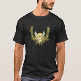 Keltische grüne Dame Wreath T-Shirt