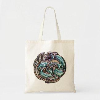 Keltische Katzen-Taschen-Tasche Tragetasche