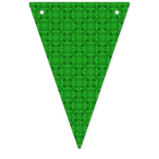 Keltische Klee-Kaleidoskop-Flaggen-Flaggen Wimpelketten