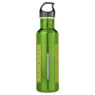 Keltische Klinge und Knüpfarbeit Trinkflasche