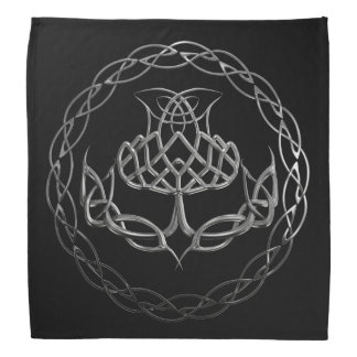 Keltische Knoten-Distel Halstücher