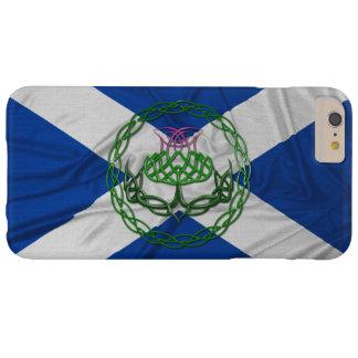 Keltische Knoten-Distel und Flagge Barely There iPhone 6 Plus Hülle