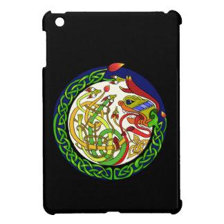 Keltische Knoten-Drache-Mandala iPad Mini Hülle
