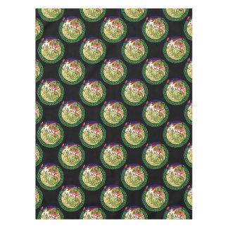 Keltische Knoten-Drache-Mandala Tischdecke