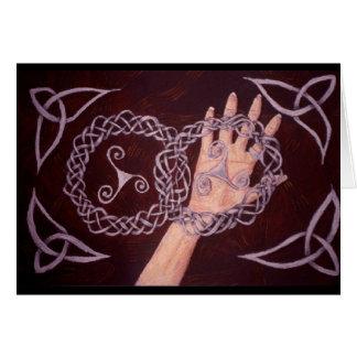 Keltische Knoten Karte