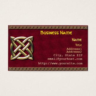 Keltische Knoten-Visitenkarte Visitenkarten