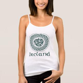 Keltische Knüpfarbeit-irisches Medaillon-Muster im Tank Top
