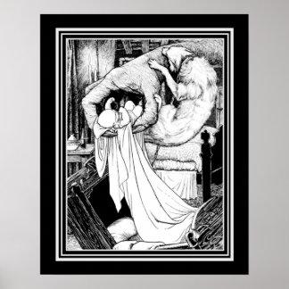 """Keltische Märchen """"Changeling"""" CA 1895 - 16x20 Poster"""