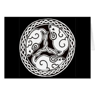 Keltische Mäusekarte 2 Karte