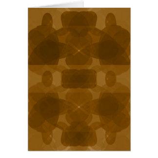 Keltische Orange #1 Karte