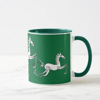 Keltische Pferde Tasse
