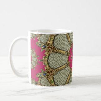 Keltische Schwerter komplex Kaffeetasse