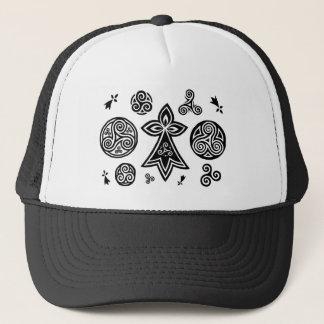 Keltische Symbole Truckerkappe