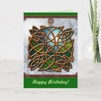 Celtic Dreams (Birthday card)