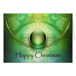 Keltische Weihnachtskarte Karte