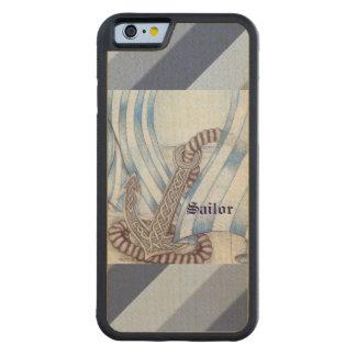 Keltischer Anker nautisch Bumper iPhone 6 Hülle Ahorn