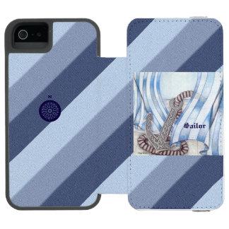 Keltischer Anker nautisch Incipio Watson™ iPhone 5 Geldbörsen Hülle