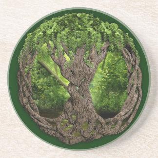 Keltischer Baum des Lebens Untersatz