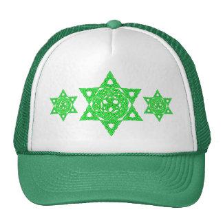 Keltischer Davidsstern Hüte Trucker Mützen