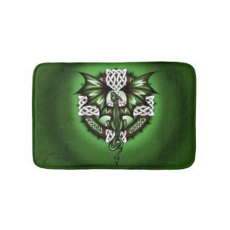 Keltischer Drache Badematten