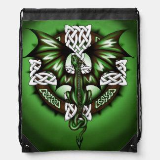 Keltischer Drache Turnbeutel