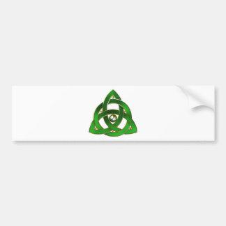 Keltischer Dreiheits-Knoten Autoaufkleber