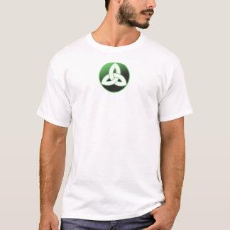 Keltischer Dreiheits-Knoten oben T-Shirt