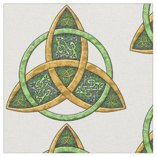 Keltischer Dreiheits-Knoten Stoff