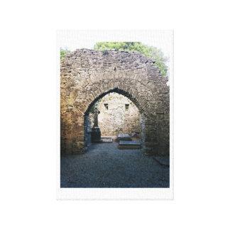 Keltischer Friedhof Leinwanddruck