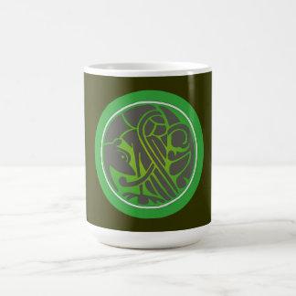 keltischer Greif celtic gryphon Kaffeetasse