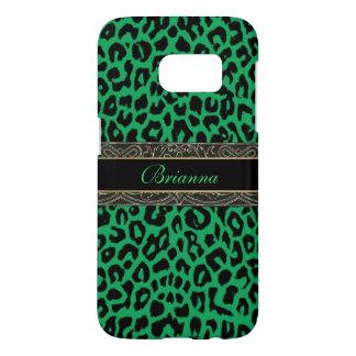 Keltischer grüner Leopard-personalisierter