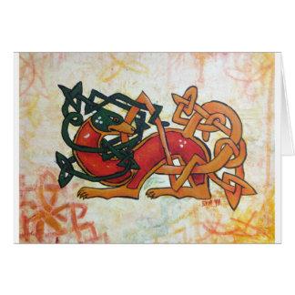 Keltischer Jagdhund Karte