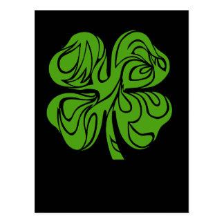 Keltischer Klee Postkarte