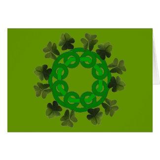 Keltischer Kleeblatt-Kreis Karte