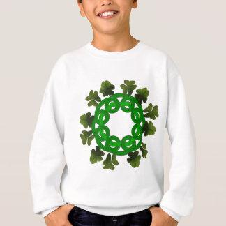 Keltischer Kleeblatt-Kreis Sweatshirt
