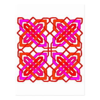 Keltischer Knoten 3 Postkarte