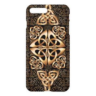 Keltischer Knoten auf Schwarzem