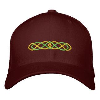 Keltischer Knoten Bestickte Baseballkappe