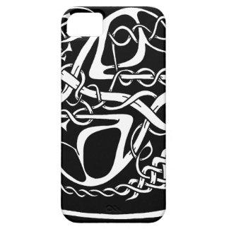 Keltischer Knoten-Känguru Schwarzweiss Barely There iPhone 5 Hülle