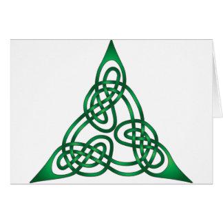 Keltischer Knoten Karte