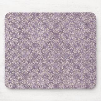 Keltischer Knoten-lila Muster Mauspads