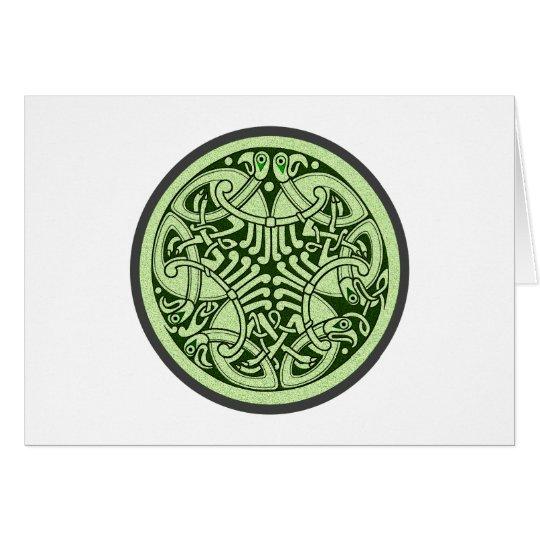 keltischer Knoten Ornament celtic knot Karte