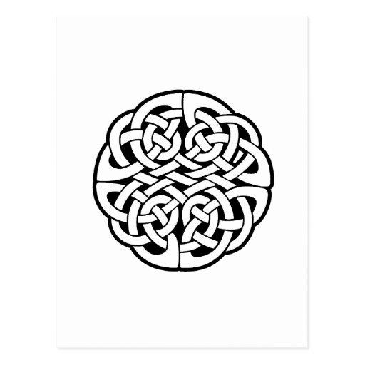 Keltischer Knoten Postkarten