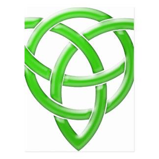 Keltischer Knoten Postkarte